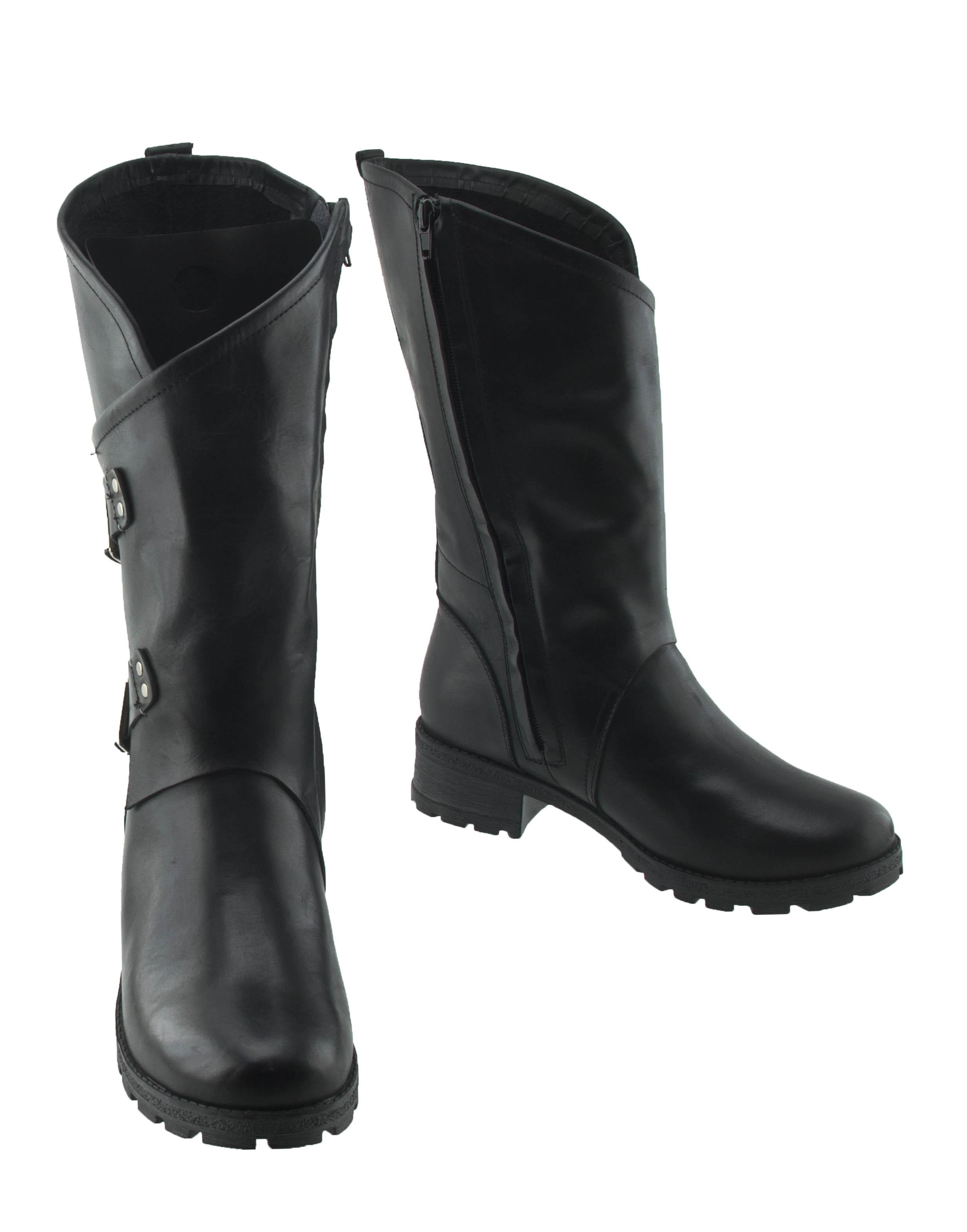 Сапоги женские Brado 95854 черные 38 RU