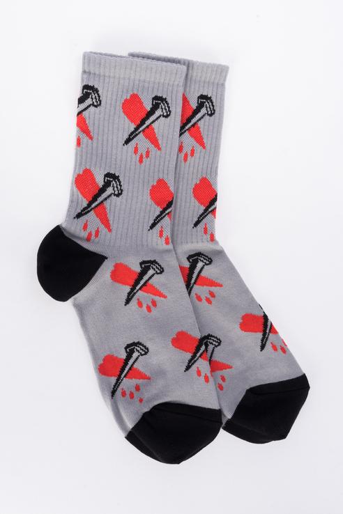 Носки женские big bang socks 1500074787/4 серые 35-39