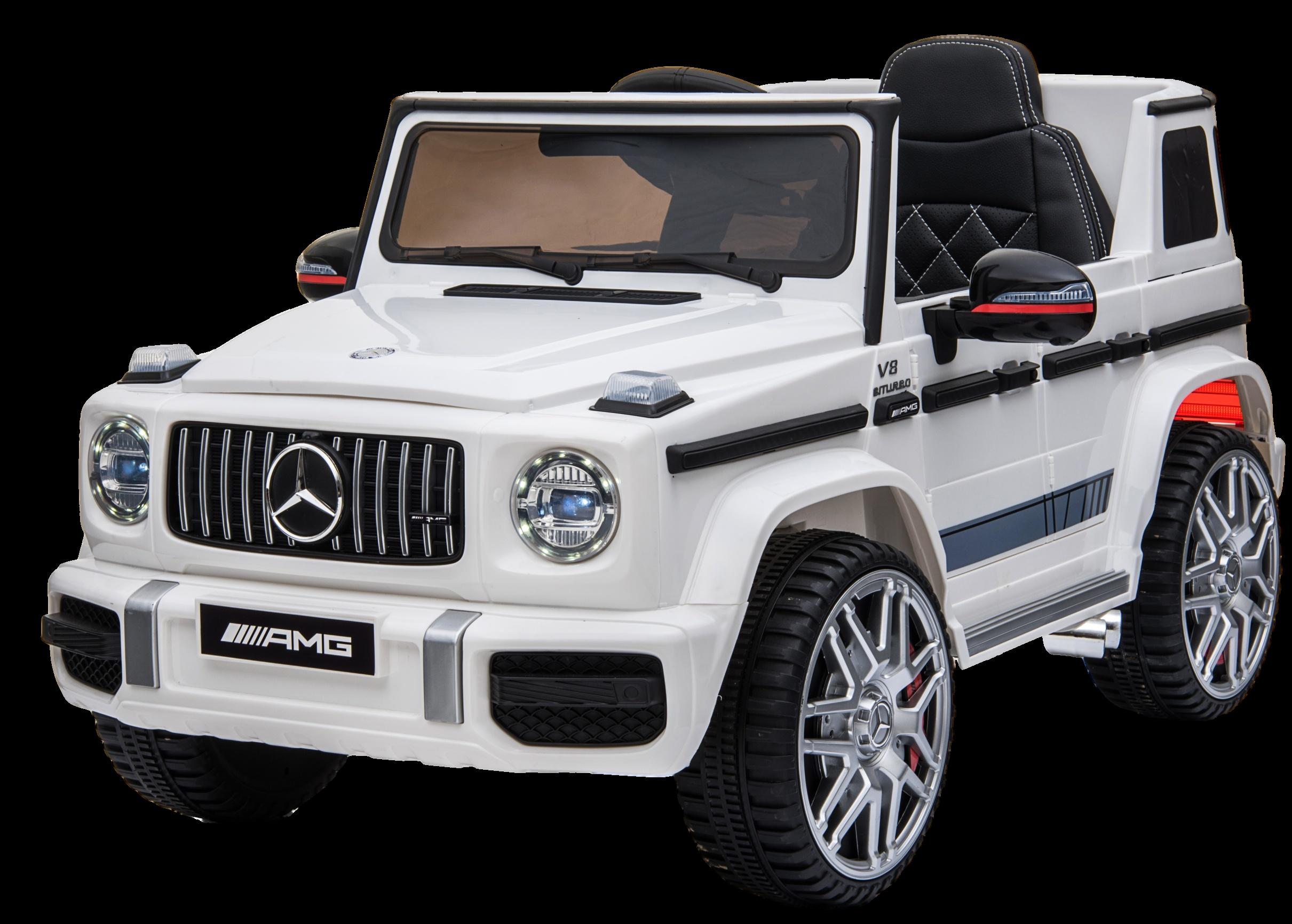 Купить Электромобиль Farfello Mercedes-AMG BBH-0003 G63 белый,