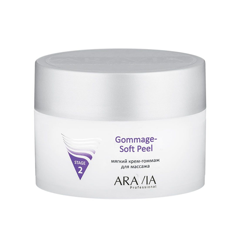 Купить ARAVIA Professional Мягкий крем-гоммаж для массажа Gommage - Soft Peel, 150 мл./12, Уход за лицом