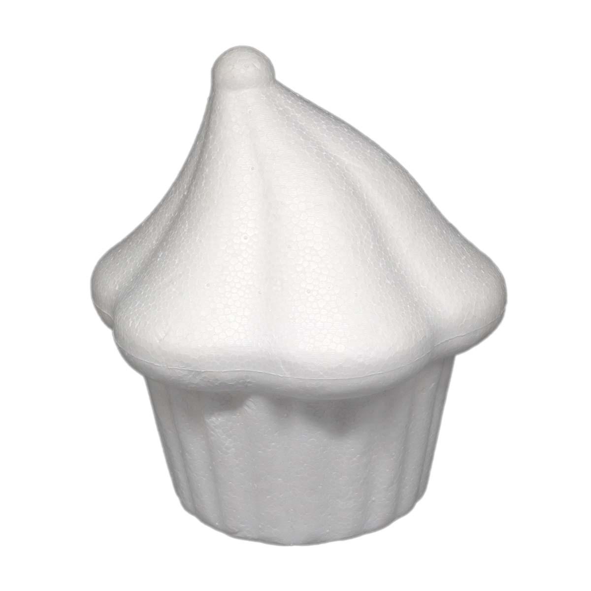 Купить Заготовка для декорирования из пенопласта Астра Кекс с безе, 8х9 см, 1 шт.,