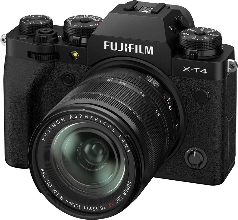 Фотоаппарат системный Fujifilm X-T4 18-55mm Black X-T4 18-55