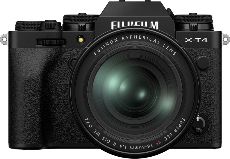 Фотоаппарат системный Fujifilm FX-T4B/1680KIT-RU C X-T4 Kit 16-80mm Black