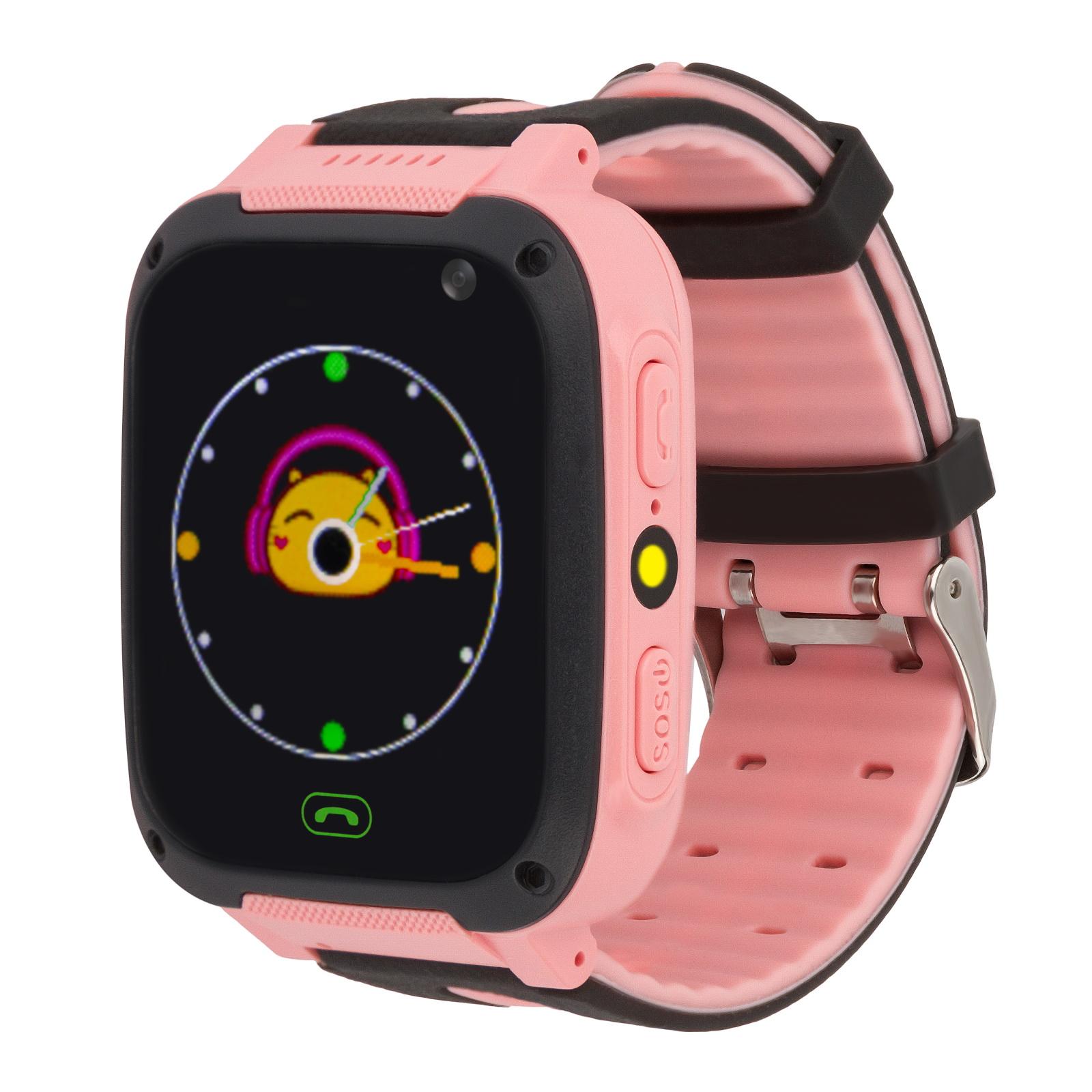 Детские смарт часы Baby Electronics S4 Black/Pink