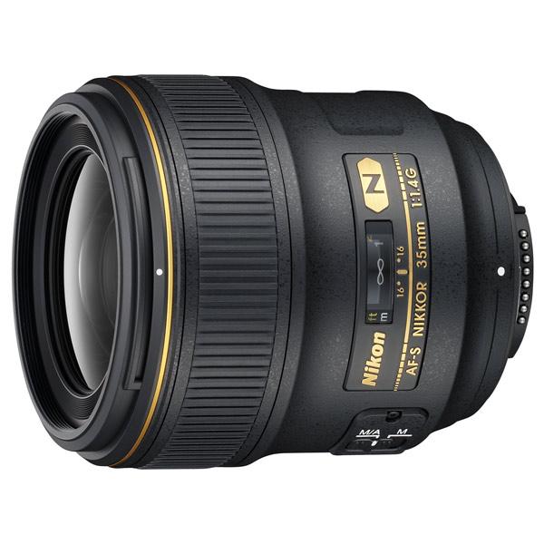 Объектив Nikon AF-S Nikkor 35mm f/1.4G фото