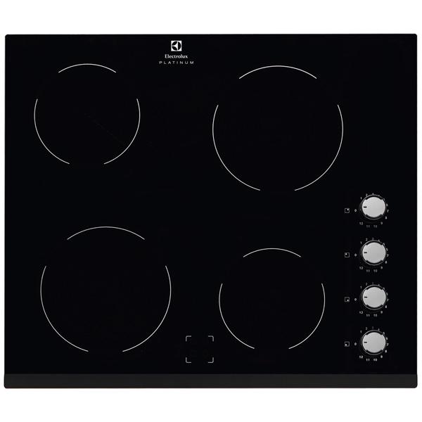 Встраиваемая варочная панель электрическая Electrolux EHF96140FK Black