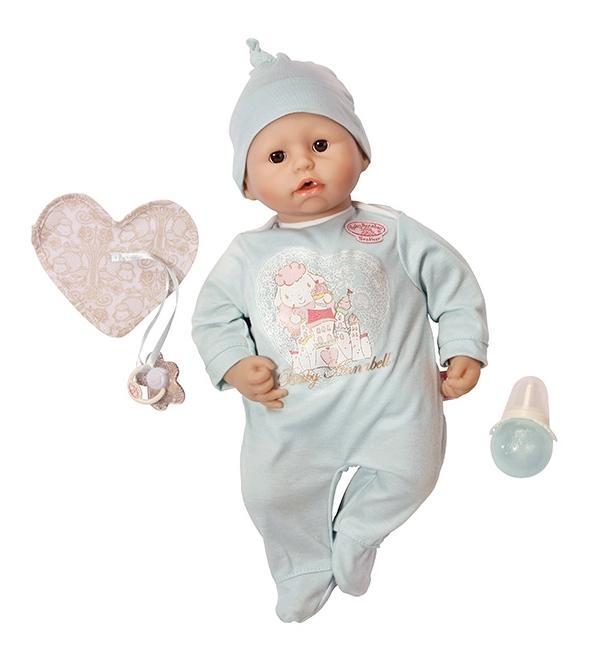 Кукла-мальчик Zapf Creation Аннабель с мимикой, 46 см
