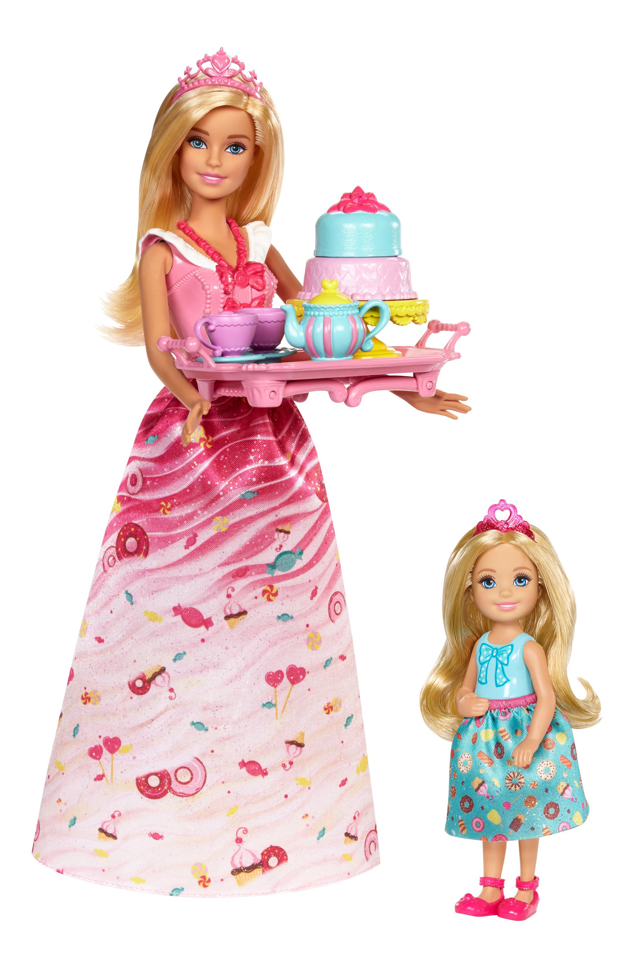 Куклы Barbie и Челси Чаепитие в сладкограде