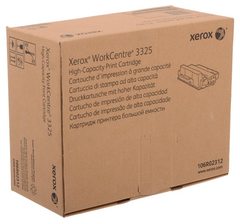 Картридж для лазерного принтера Xerox 106R02312, черный, оригинал