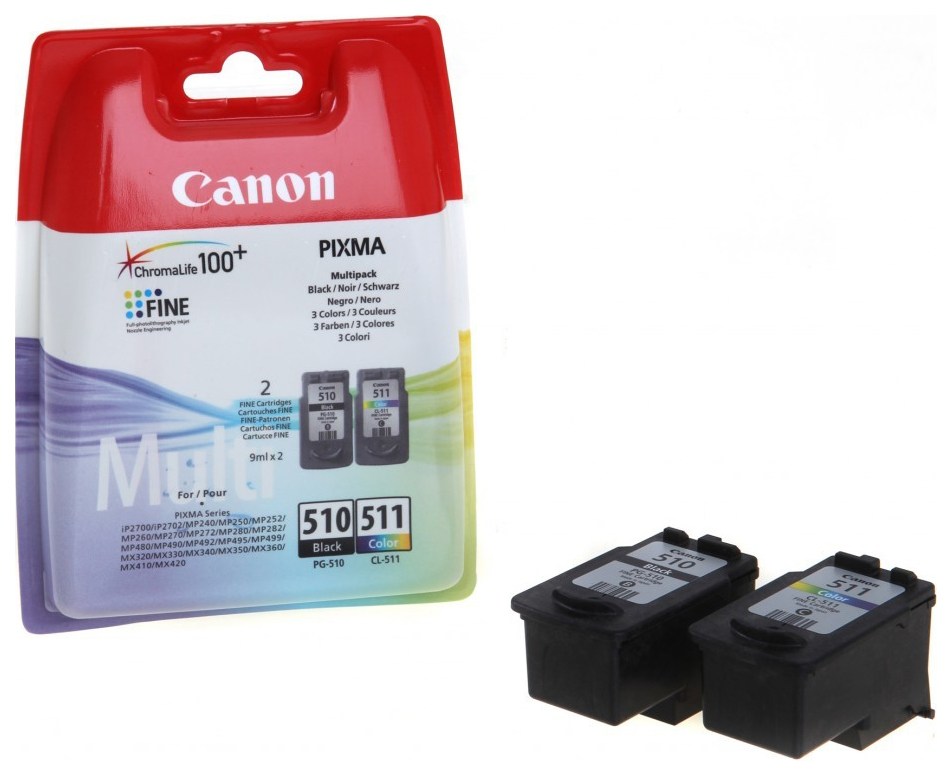 CANON PG-510. CL-511 MULTIPACK