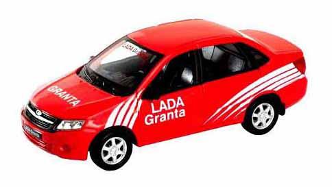 Модель машины Welly 43657RY модель машины 1:34-39 LADA Granta RALLY фото
