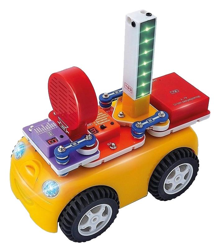 Купить Конструктор электронный Знаток Умная машина, Детские конструкторы