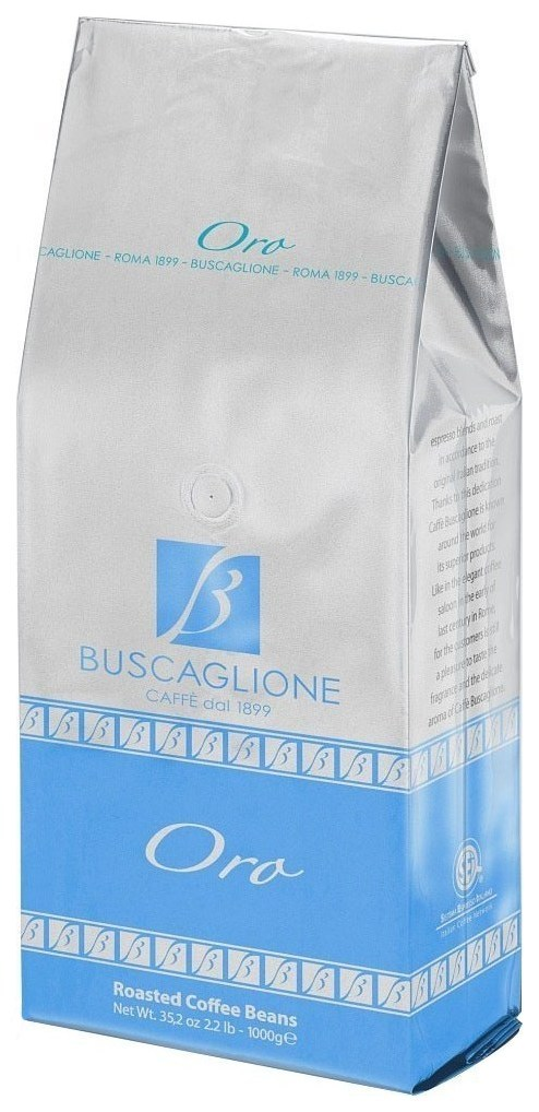 Кофе в зернах Buscaglione export oro 1000 г