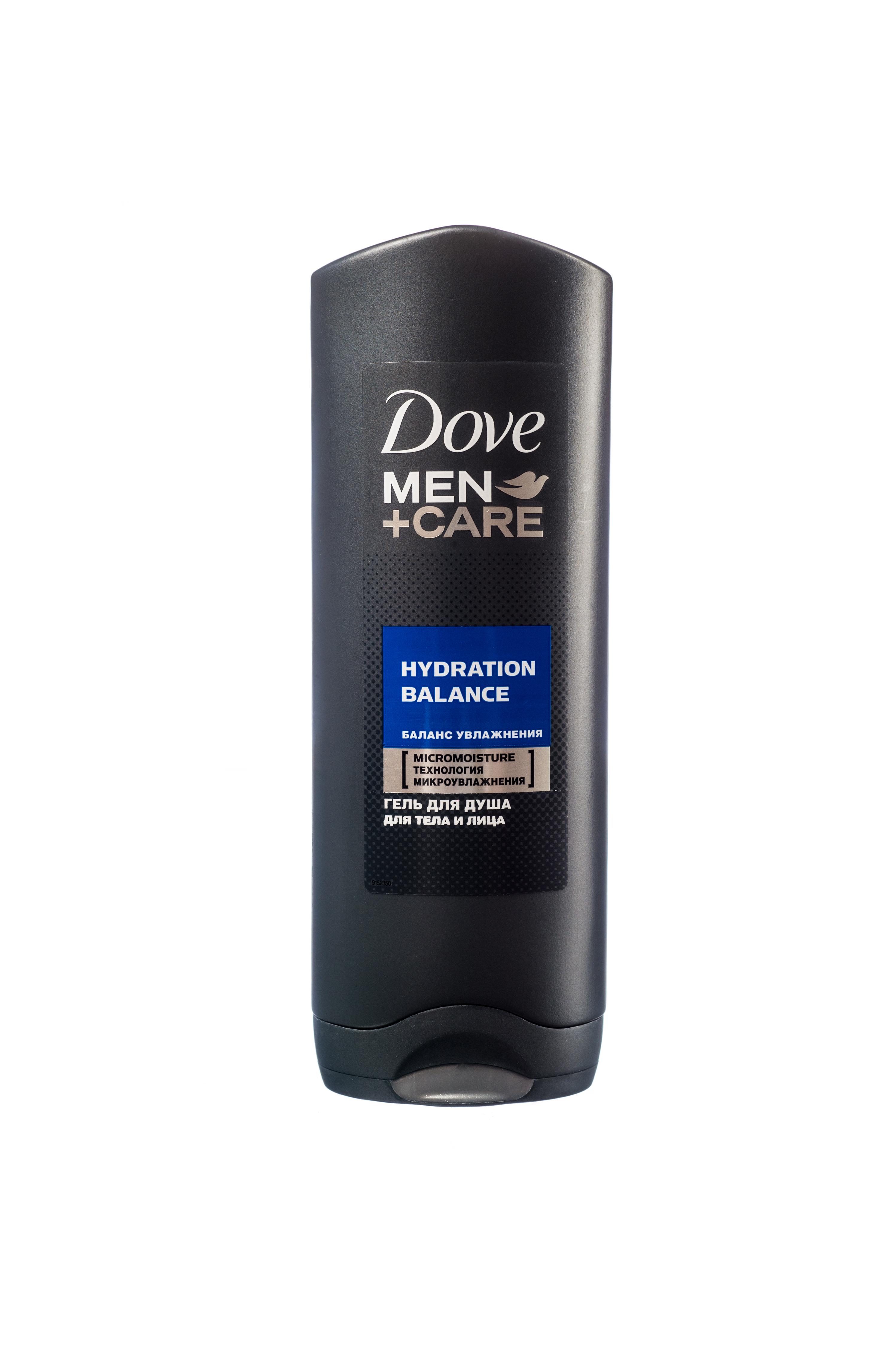 Гель для душа Dove Men+Care Баланс Увлажнения 250 мл
