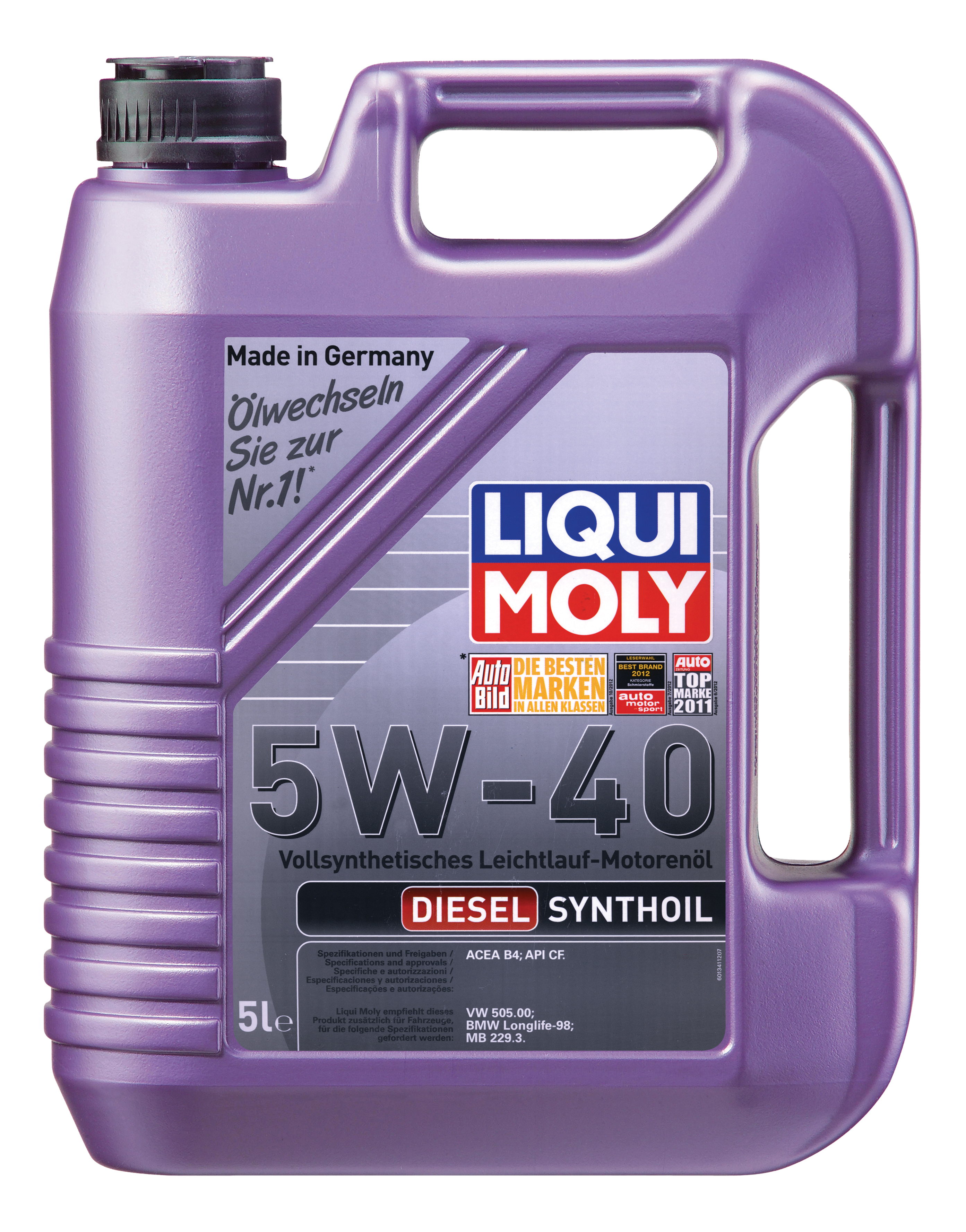 LIQUI MOLY DIESEL SYNTHOIL