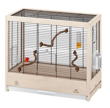 Клетка для птиц FERPLAST GIULIETTA 4 NERA деревянная 57х30х50см
