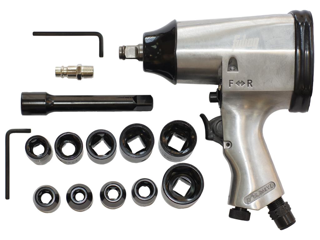 Пневмогайковерт Fubag PW158/312 серый (100109)