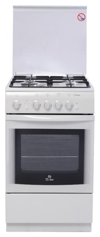 Газовая плита DeLuxe 5040.44Г ЧР White фото