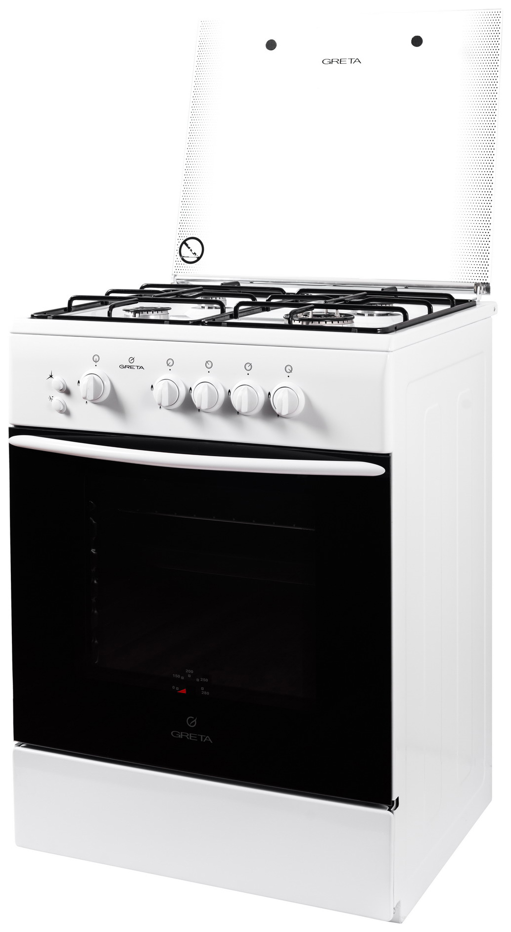 Газовая плита GRETA 600 исп 06 White