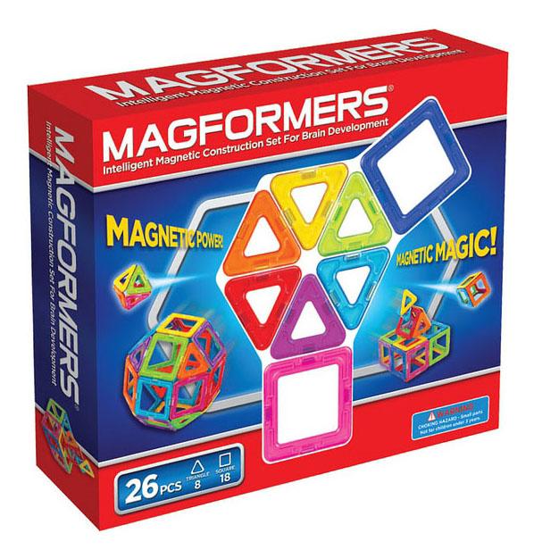 Купить Магнитный конструктор Magformers 26 деталей, Магнитные конструкторы