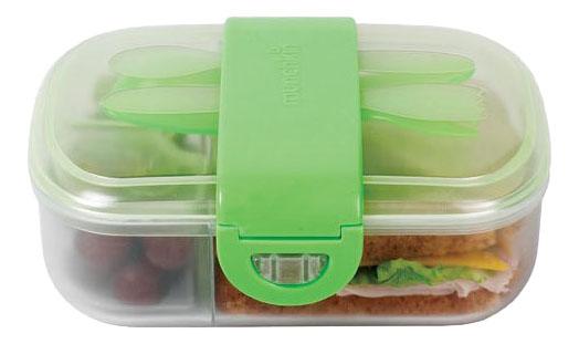 Контейнер с крышкой для хранения продуктов Munchkin С делениями для хранения питания