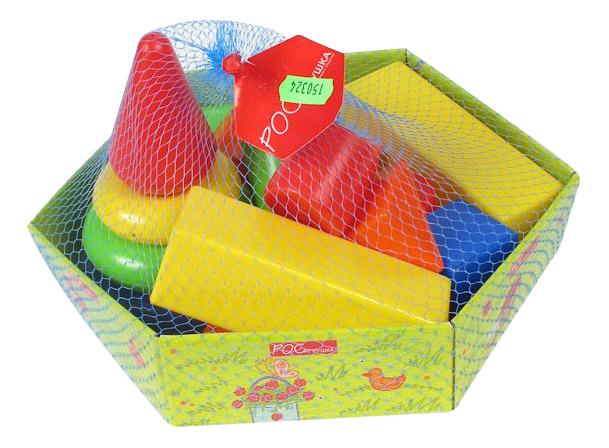 Детские кубики Росигрушка Клепа.