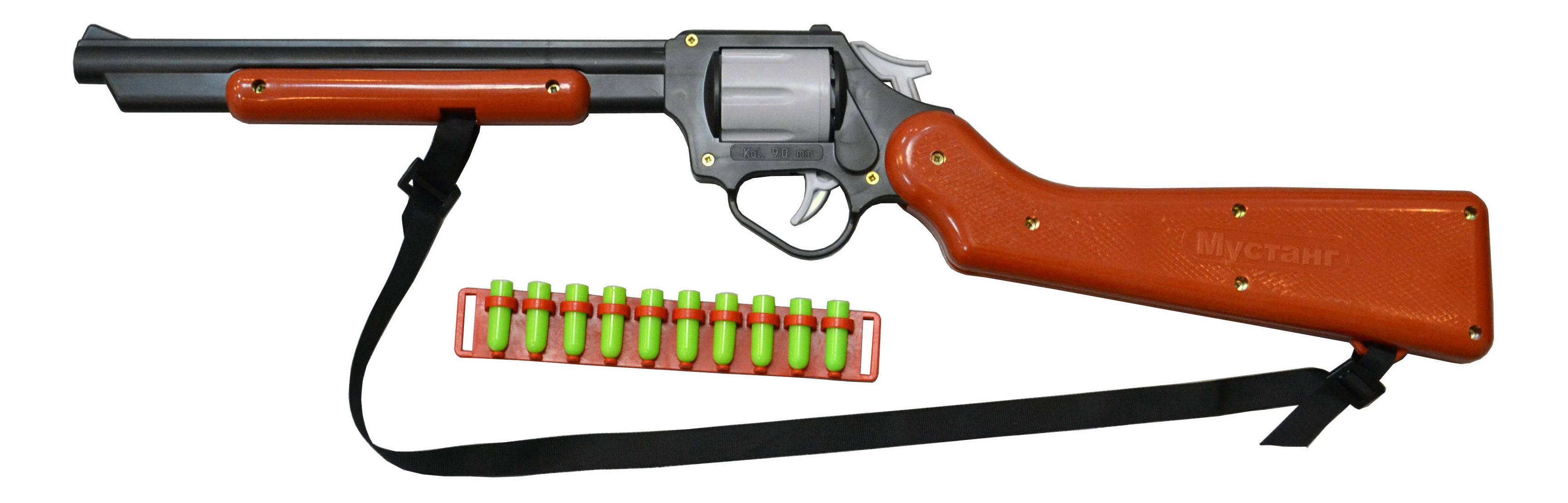Купить Игрушечное оружие Форма Мустанг, Стрелковое игрушечное оружие