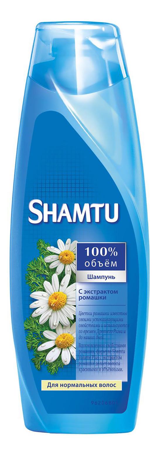 Шампунь SHAMTU Питание с экстрактом ромашки 360 мл