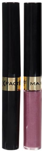 Стойкая помада и увлажняющий блеск MAX FACTOR Lipfinity, тон №310 Essential violet