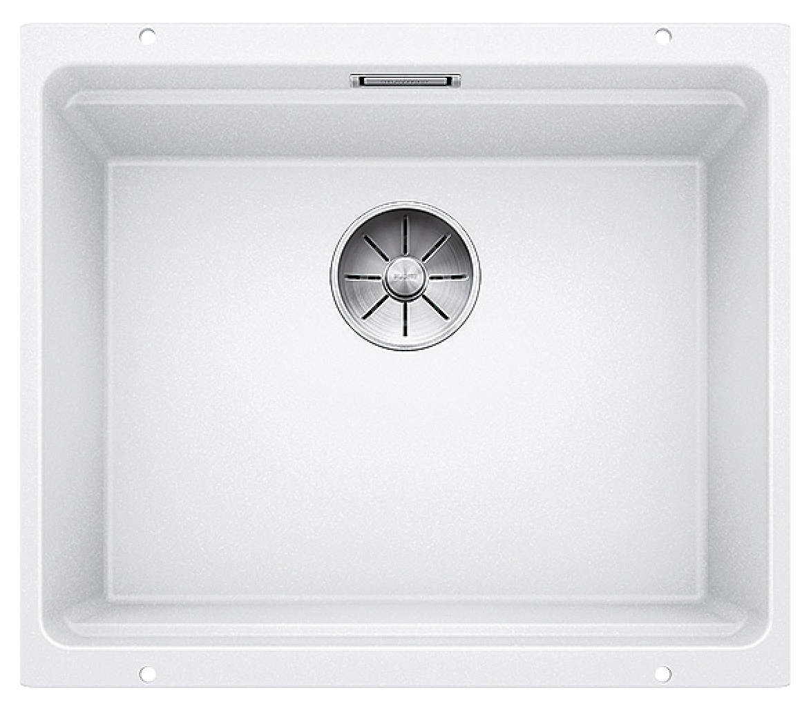 Мойка для кухни гранитная Blanco ETAGON 500-U 522231 белый фото
