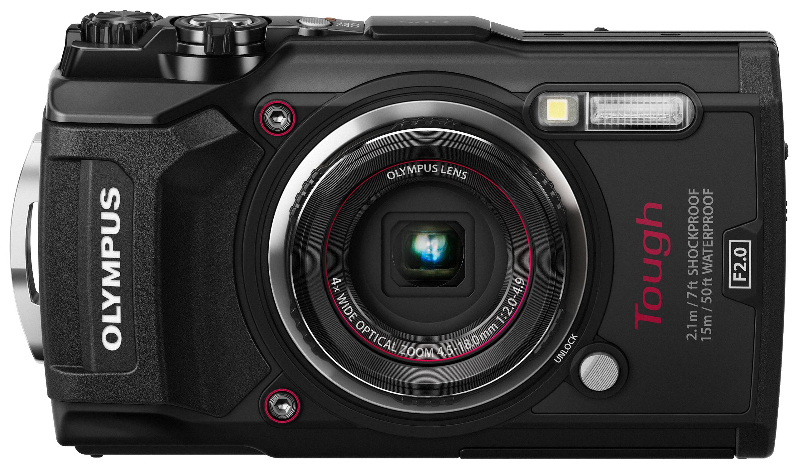 Фотоаппарат цифровой компактный Olympus Tough TG-5 Black.