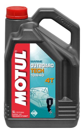 Моторное масло Motul Outboard Tech 4T 10W-40 5л 106354