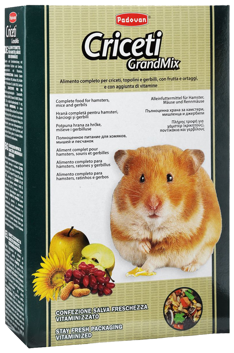 Корм для хомяков, мышей Padovan Grandmix