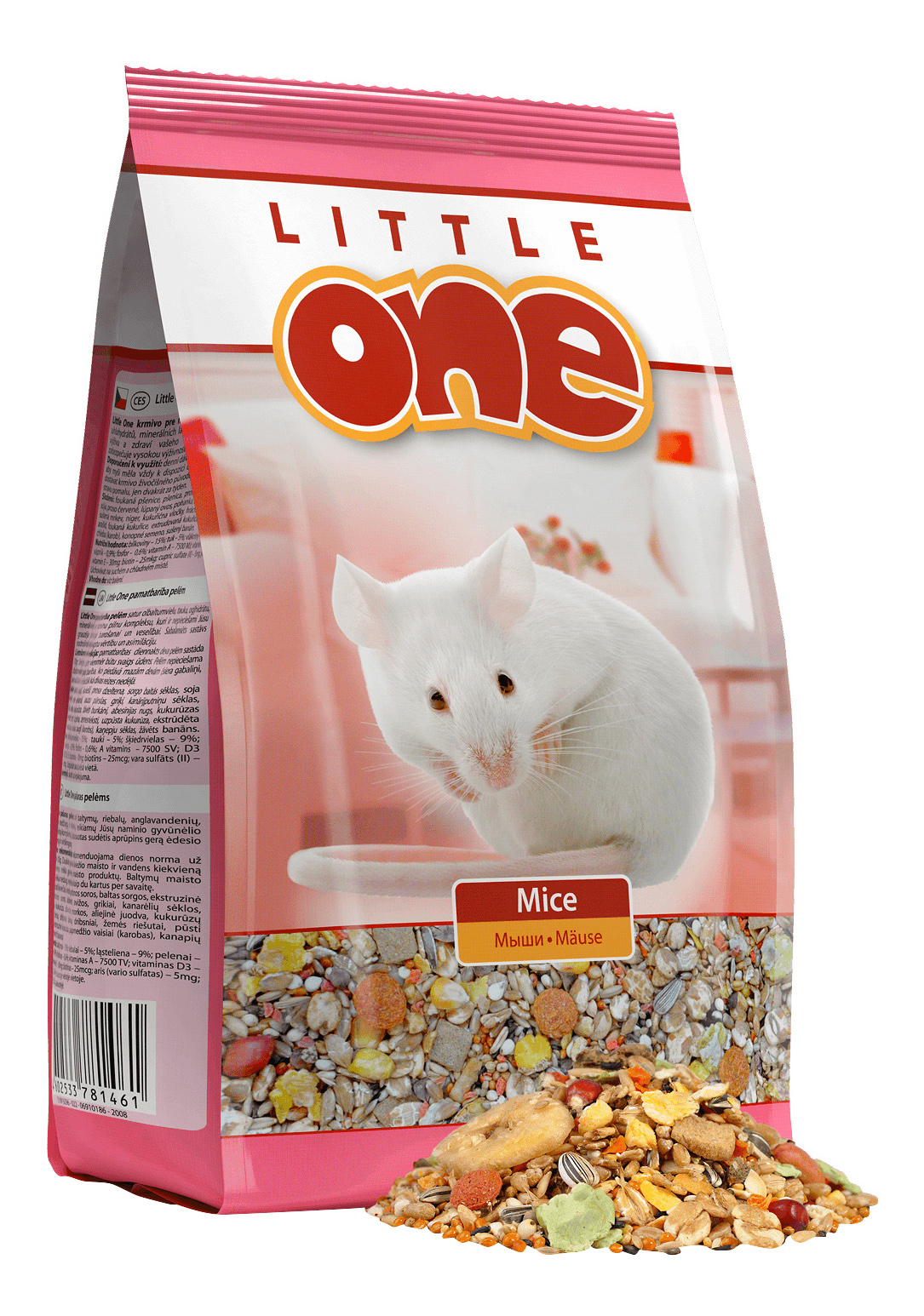 Корм для мышей Little One Mice 0.4 кг 1 шт