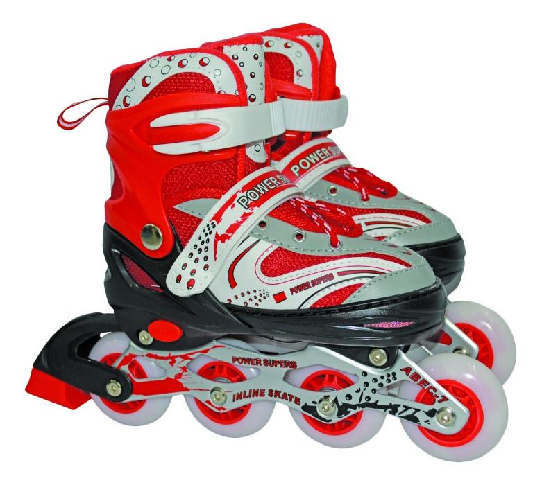 Роликовые коньки раздвижные детские Navigator S (30-33) красные
