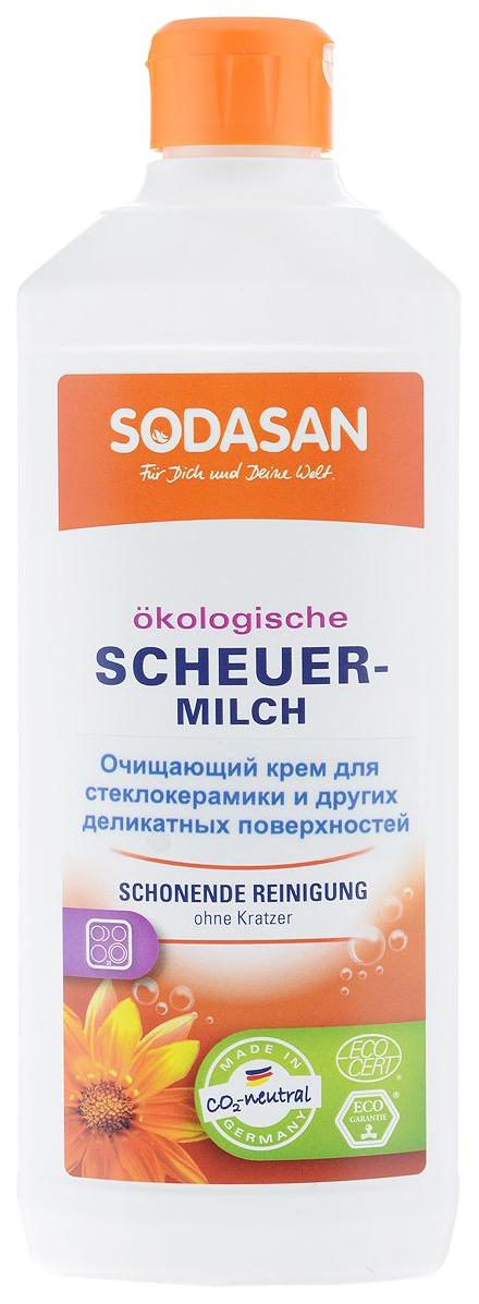 Средство для чистки стеклокерамики Sodasan 500 мл