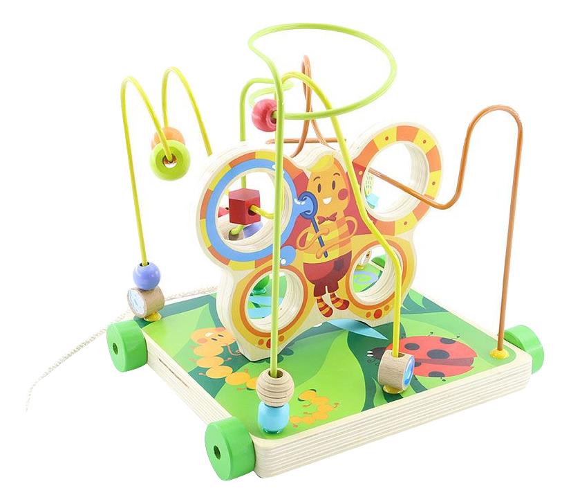 Купить Деревянная игрушка для малышей Мир Деревянных Игрушек Бабочка большая, Развивающие игрушки
