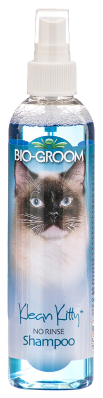 Шампунь-спрей для кошек Bio-Groom Klean Kitty без смывания, 236 мл
