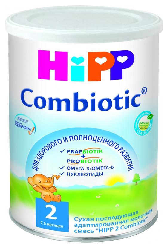 Купить Молочная смесь HiPP Combiotic 2 от 6 до 12 мес. 350 г,