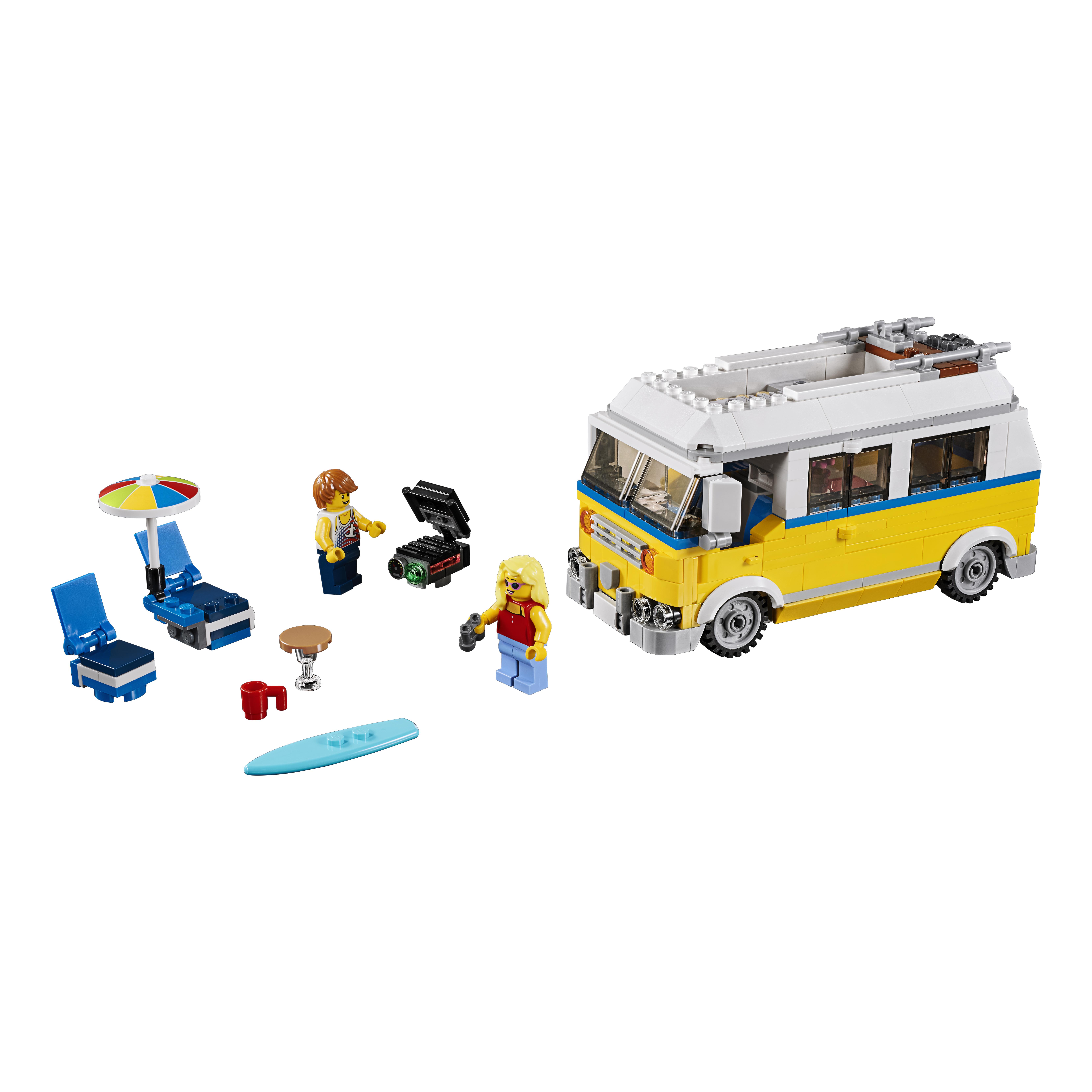Конструктор LEGO Creator Фургон сёрферов (31079)