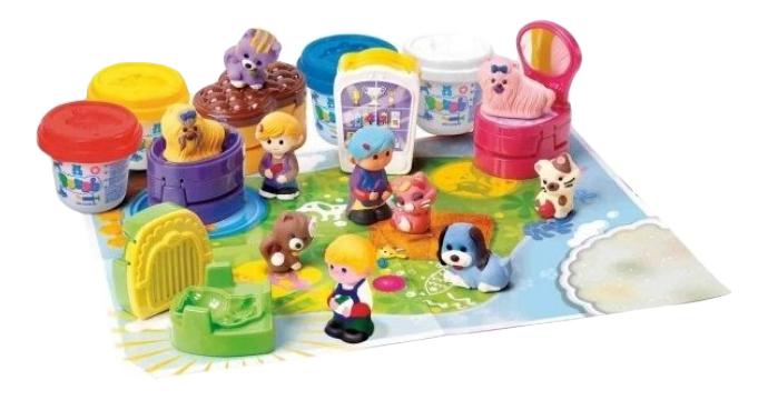 Купить Набор для лепки из пластилина Playgo Зоомагазин, Play&Go, Лепка