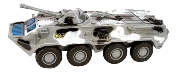 Купить Машина военная Play Smart Огневая мощь БТР-80, PLAYSMART, Военный транспорт