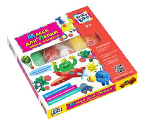Купить Паста для лепки KriBly Boo Новая формула 6 цветов, Лепка