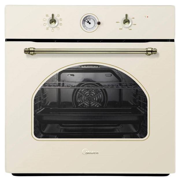 Встраиваемый электрический духовой шкаф Midea MO58100RGI-B Beige фото
