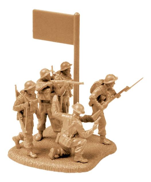 Купить Британская пехота 1939-1945, Модели для сборки Zvezda Британская Пехота 1939-1945