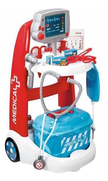 Купить Тележка игрушечная Smoby Тележка медицинская, Simba, Детские тележки для супермаркета