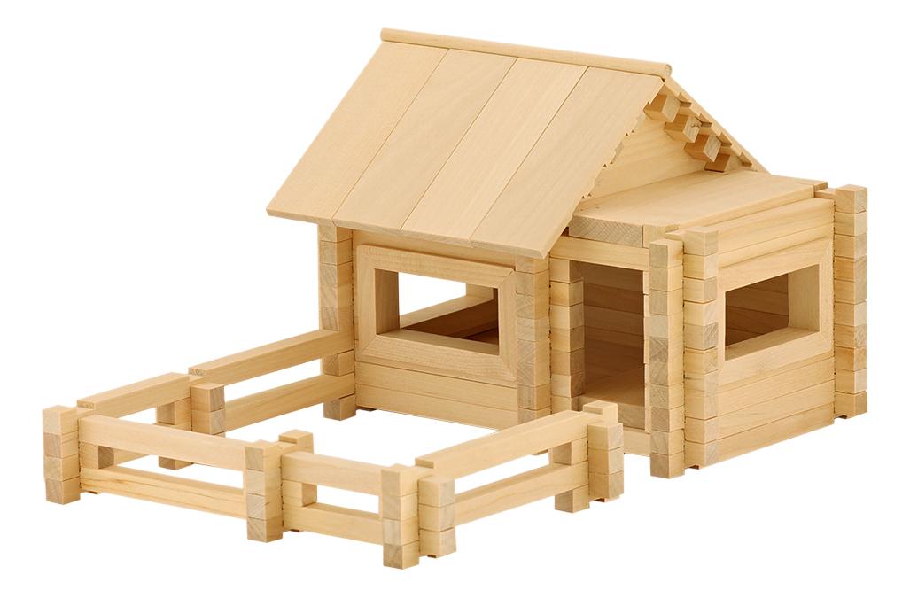 Конструктор деревянный ПЕЛСИ Архитектор К652