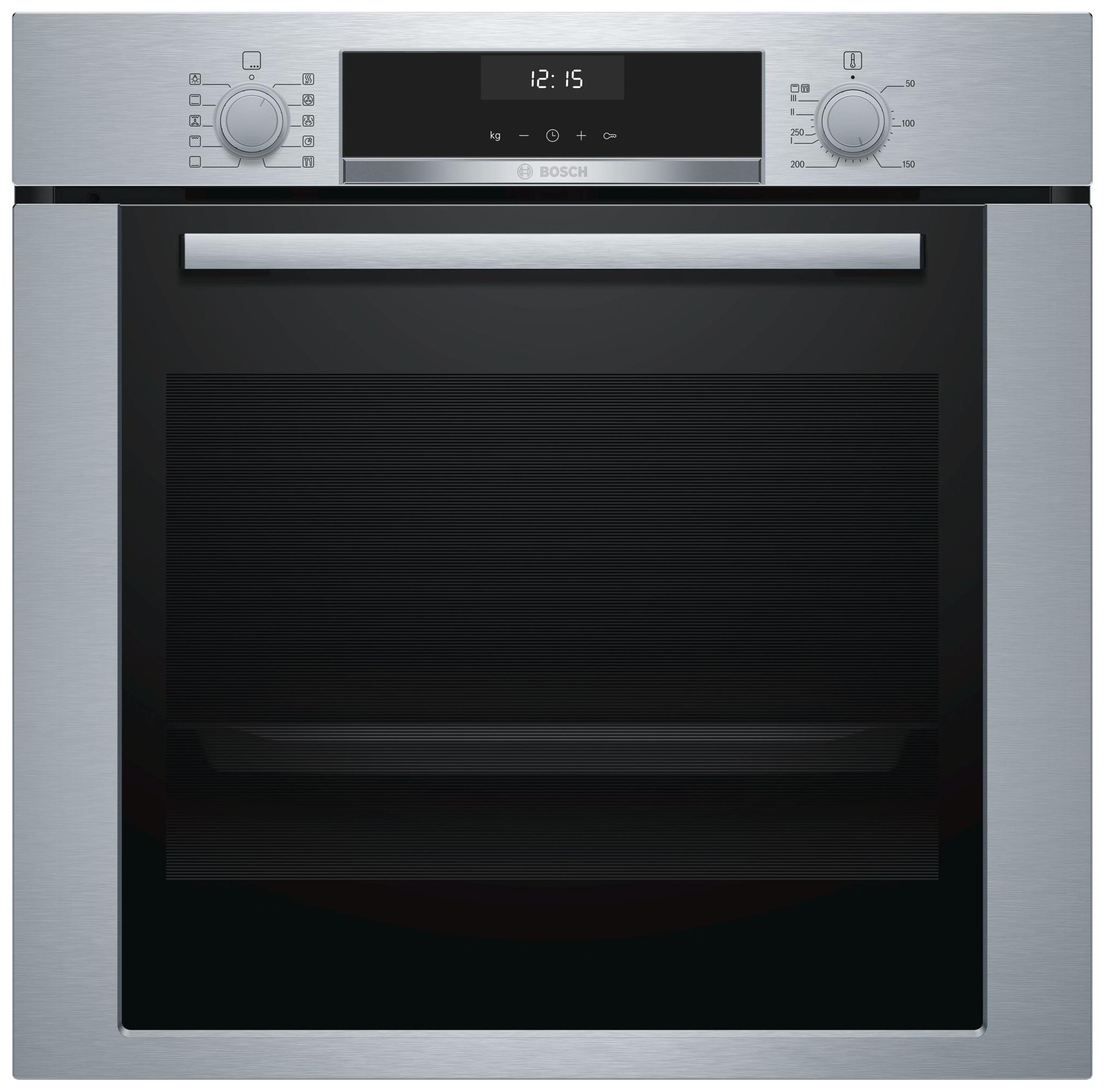 Встраиваемый электрический духовой шкаф Bosch HBA337BS0R Silver