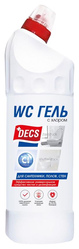 Универсальное средство для чистки и дезинфекции Decs