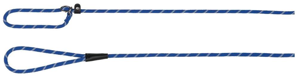 Поводок-удавка для собак Trixie Sporty Rope S, синий фото